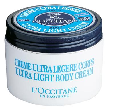 L'Occitane Shea Butter Ultra-Light Body Cream