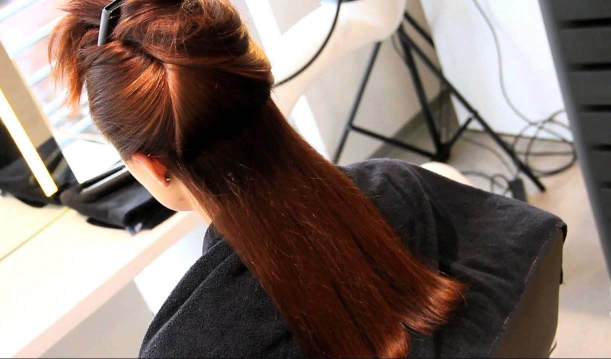 värmeskydd torrt hår
