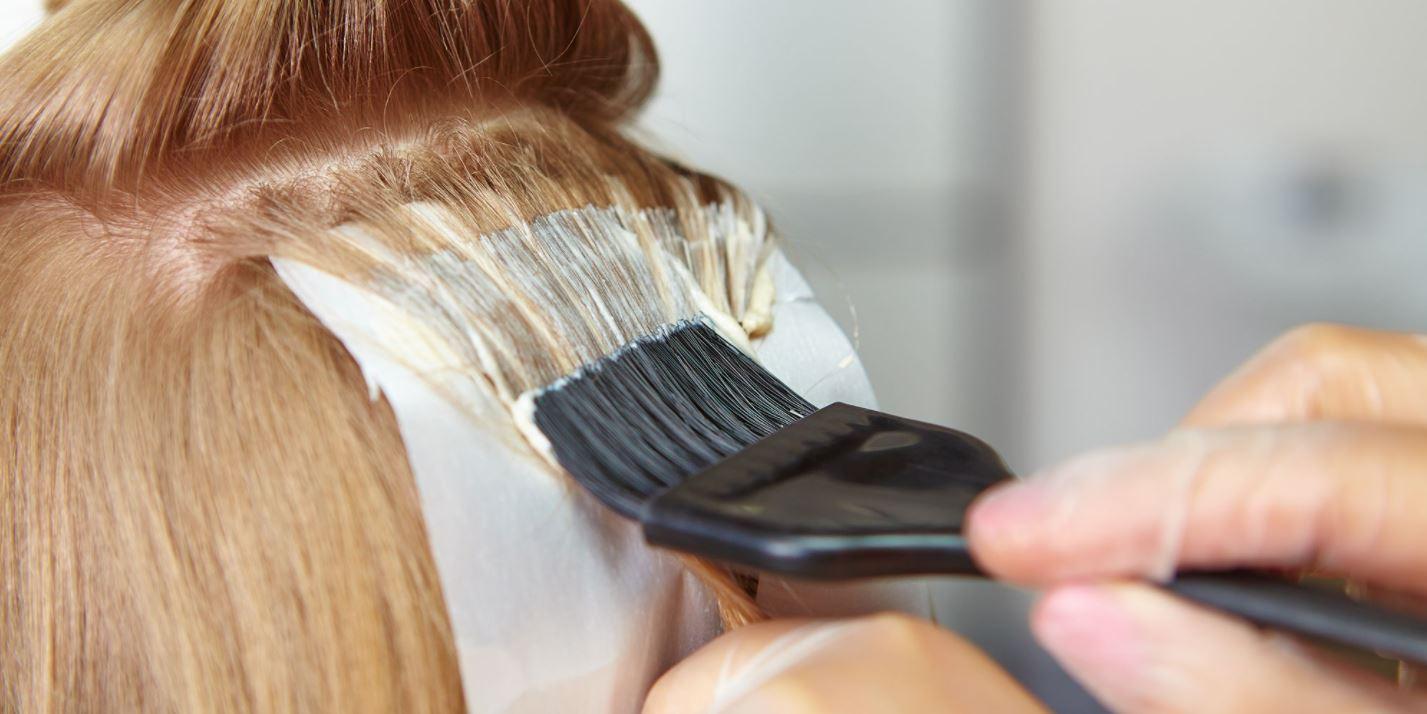 Test av ekologisk hårfärg