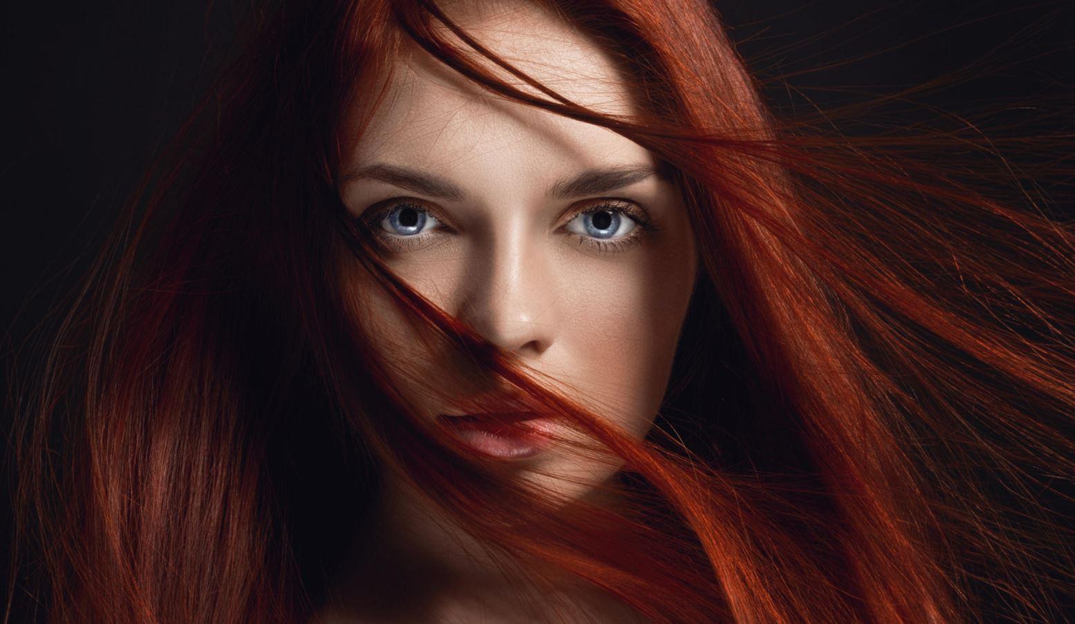 Test av röda hårfärger